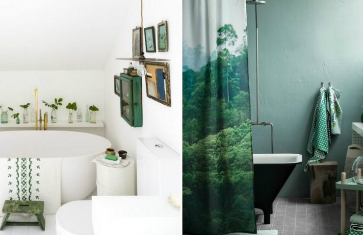 Bring Nature Inside the Bathroom with Lush Meadow Pantone