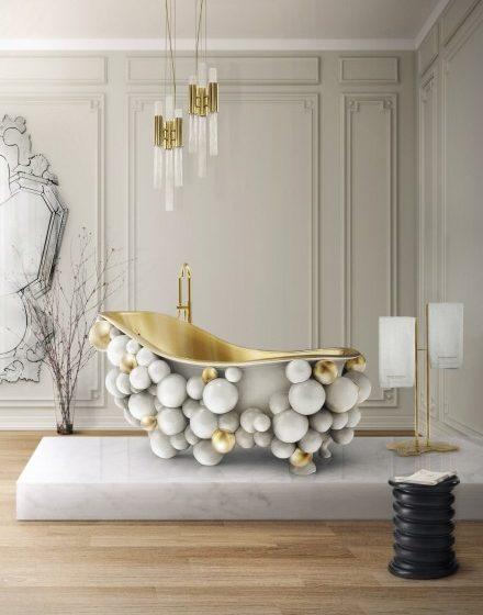 8 best bathroom designs 8 Best Bathroom Designs That Will Transform Your Bathroom 13 newton bathtub eden towel rack venice mirror tiffany stool maison valentina 1 HR e1491403494638 440x560