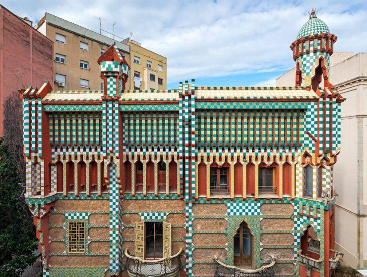 architect Antoni Gaudi's first home architect Antoni Gaudi's first home Will Open As A Museum This Year casavicens 740x560