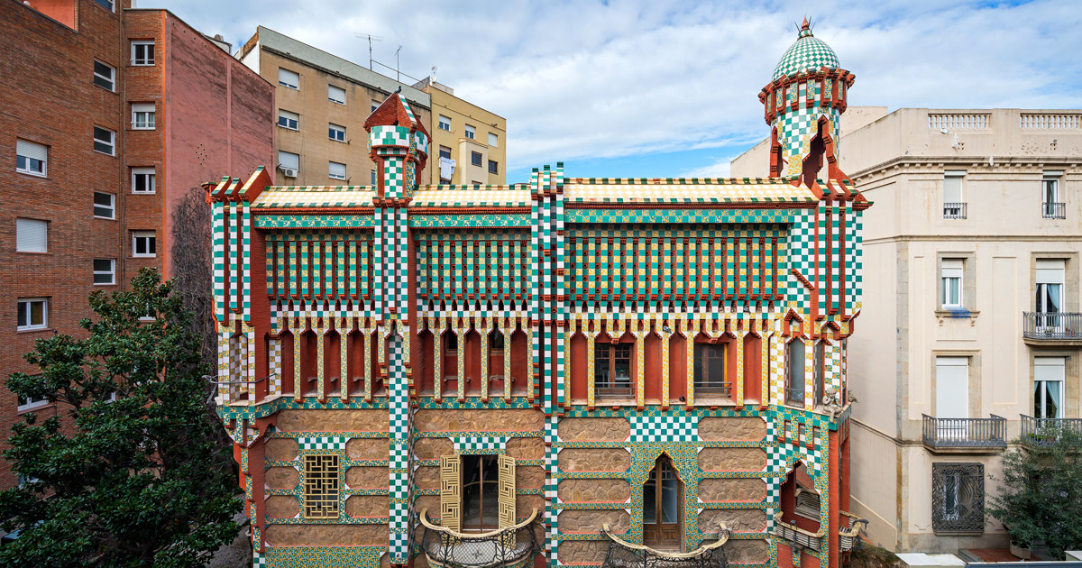 Architect Antoni Gaudis First Home