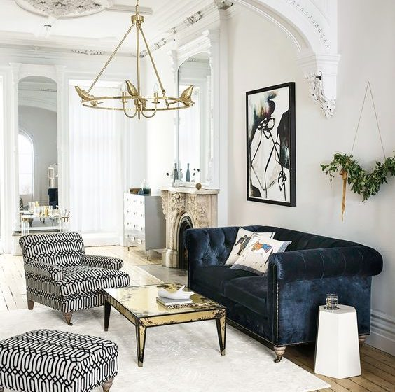 5 brilliant ways to master the color scheme navy blue and gold trend 5 Brilliant Ways To Master the Color Scheme Navy Blue And Gold Trend 23001c4e97bbb499c62ff18ff668d165 564x560
