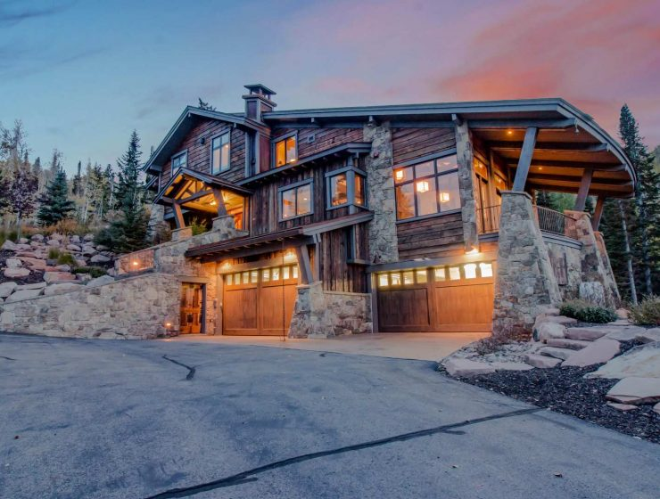 5 luxury homes 5 Luxury Homes That Get Outdoor Living Just Right Luxury Home  Park City Utah 740x560