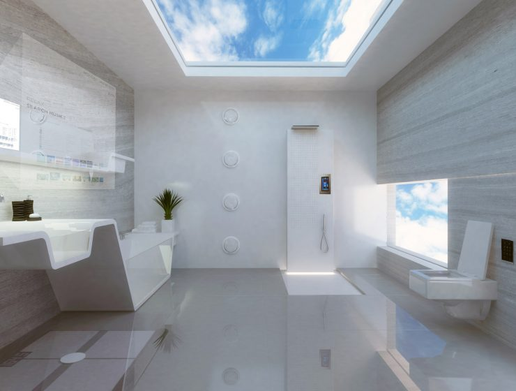 5 Smart Home Devices For Your Bathroom 5 Smart Home Devices For Your Bathroom future bathroom full 2 740x560