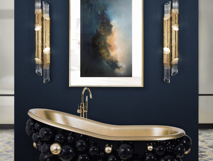 simple ways to elevate your bathroom 5 Simple Ways To Elevate Your Bathroom 26 newton bathtub ring mirror 2 HR 740x560