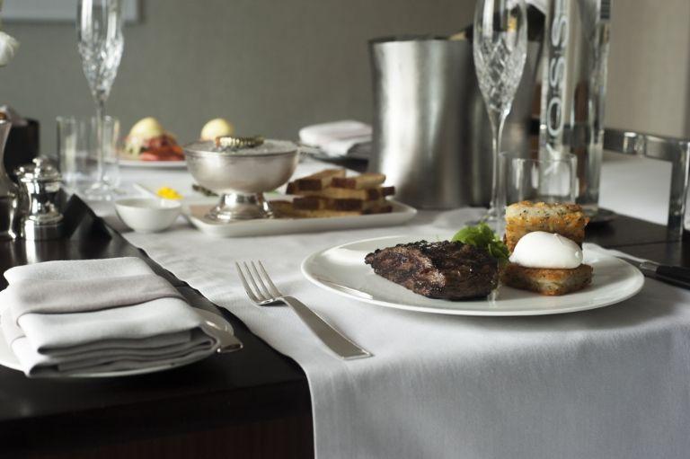 Park Hyatt Hotel New Luxurious Room Service Breakfast
