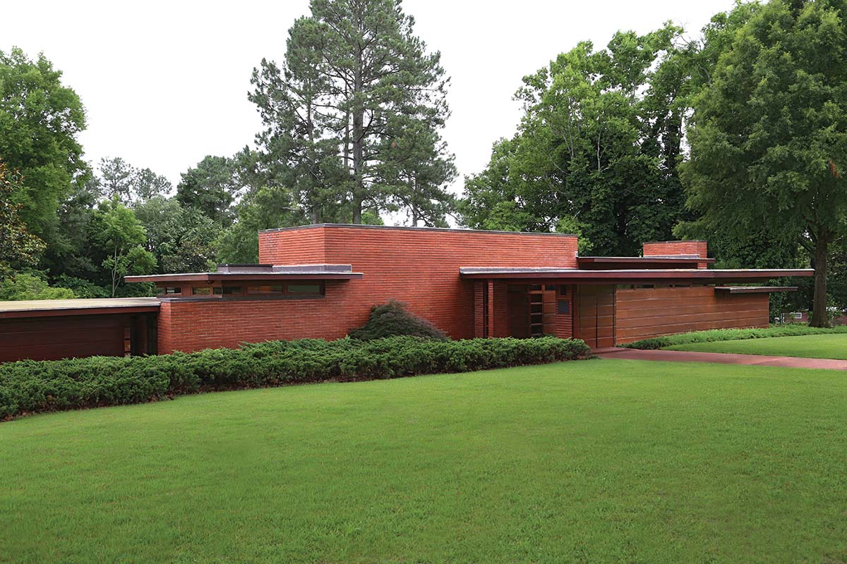 House Plans With Photos 5 Must See Frank Lloyd Wright Buildings In The South