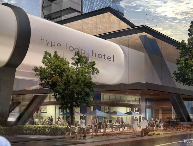 The Hyperloop Hotel The Hyperloop Hotel: Might Be The Future Of Travel hyperloop hotel 1 740x560