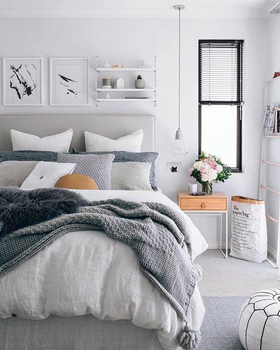 Scandinavian Bedroom Design Ideas
