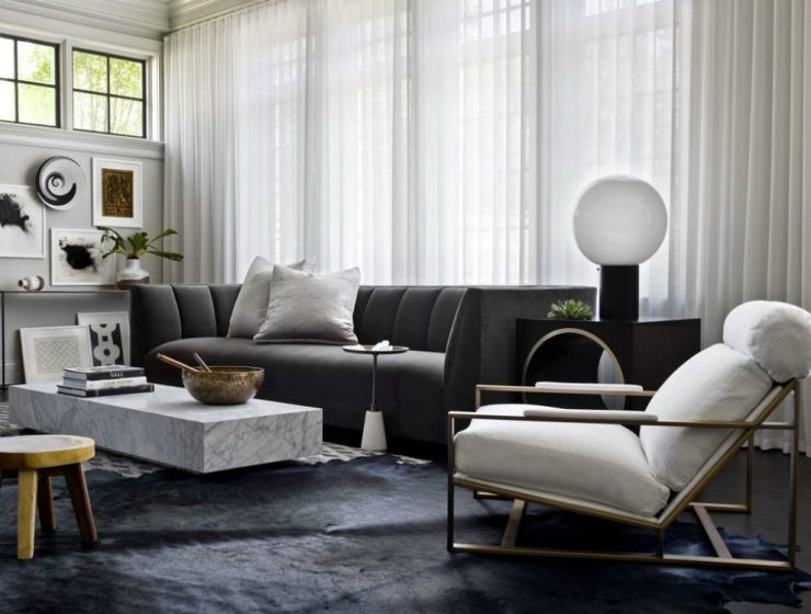 HOUSE TOUR: A Stunning Renovated Chicago Home HOUSE TOUR: A Stunning Renovated Chicago Home House Tour A Glamorous and Edgy Chicago Home 07 740x560