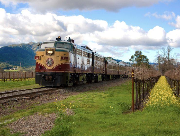 Wine Train Embark in this Exquisite Wine Train Napa Valley Wine Train Engine70 71 72 740x560