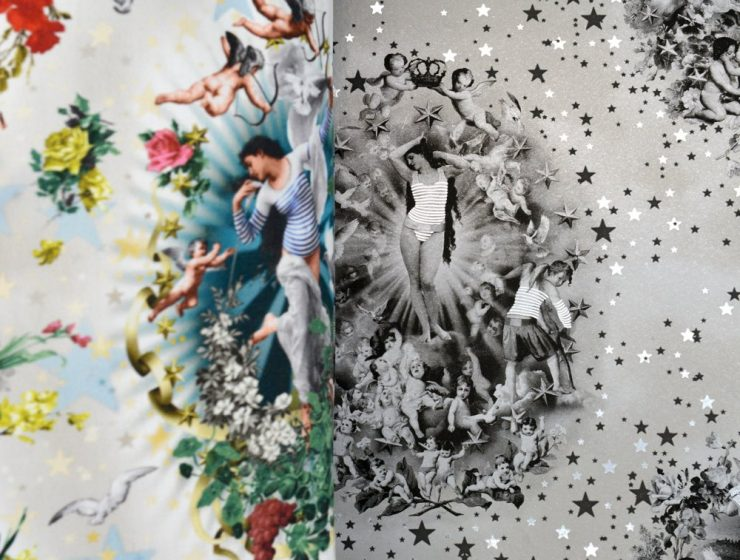 Jean-Paul Gaultier Couture-Inspired Wallpaper Collection Jean-Paul Gaultier Couture-Inspired