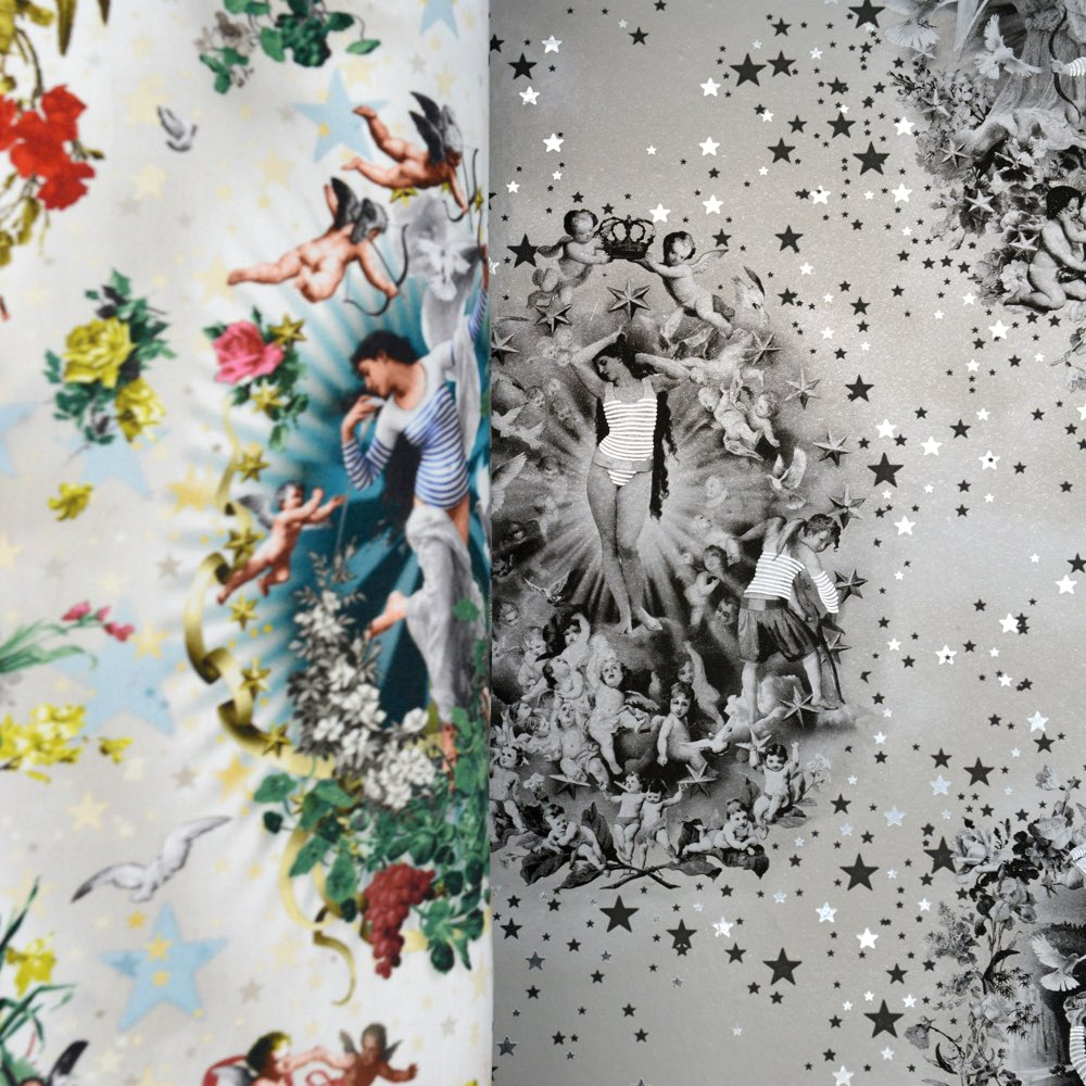 Jean Paul Gaultier Couture Inspired Wallpaper Collection
