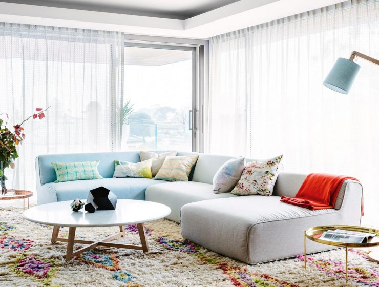 2018 color trends How To Use The 2018 Color Trends In Your Projects living room pastel colours shaggy rug curtains floor lamp apr15 20160802124620 q75dx1920y u1r1g0c  740x560