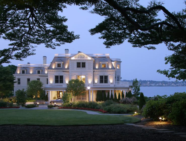 The Chanler Discover the Most Romantic Hotel in the United States: The Chanler exterior a 1 740x560