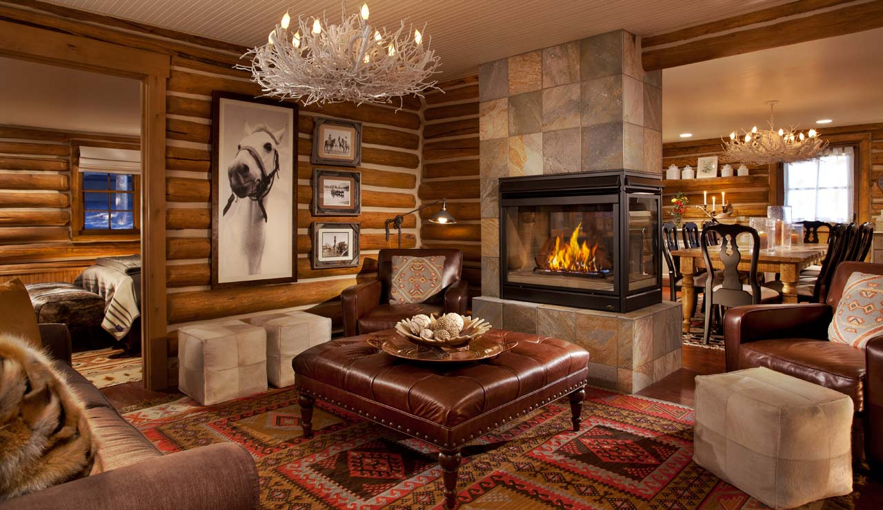 Warm And Cozy Dining Room Moodboard: Rustic Living Room Ideas For This Fall