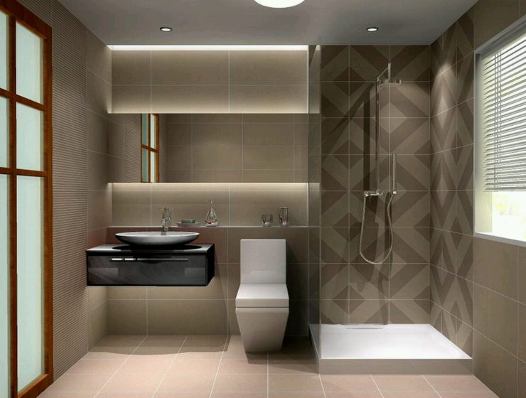 Bathroom Tile Ideas Amazing Eye-Catching Bathroom Tile Ideas 3432c564fddd2a40d87bfc79f97c560e 740x560