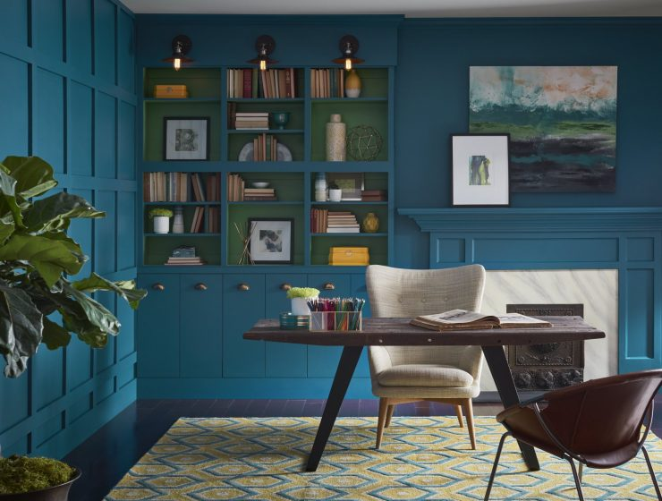 2018 color of the year Discover the 2018 Color Of the Year According to Sherwin-Williams sherwin williams coty eclectic home oa 02 740x560