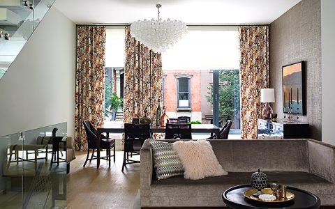 Top NYC Interior Designers Top NYC Interior Designers You Need To Know Top NYC interior designers Bella Mancini Brooklyn Townhouse 480x300