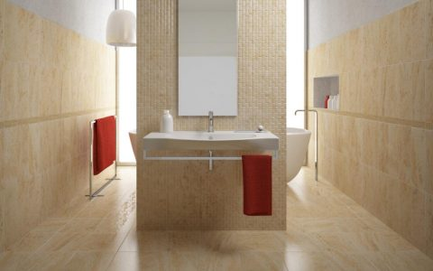 wall covering Find The Perfect Wall Covering For Your Bathroom 1405441949525 480x300