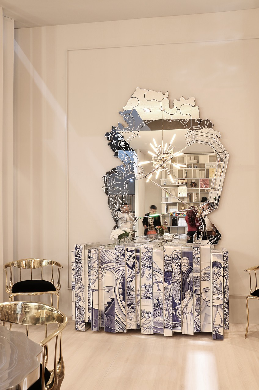 wall mirror,wall mirror ideas, inspiration, design inspiration, mirror wall mirror ideas 9 Wall Mirror Ideas That Will Give a Unique Look to Your Room 15 Striking Wall Mirrors You Can Find at Maison et Objet and More 17