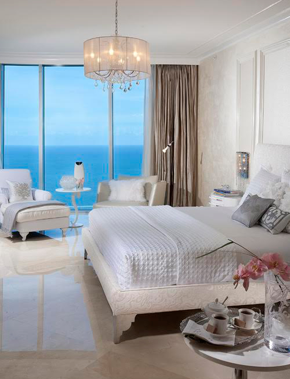 amazing ocean views Bedrooms with Amazing Ocean Views Penthouse 4 Miami Houzz