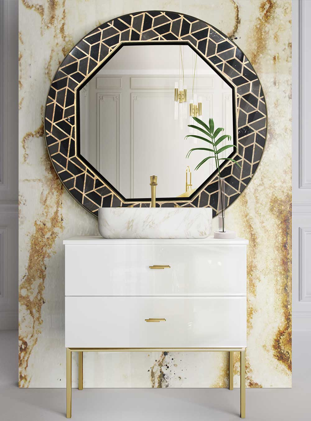 wall mirror ideas 9 Wall Mirror Ideas That Will Give a Unique Look to Your Room assemble to order ambience