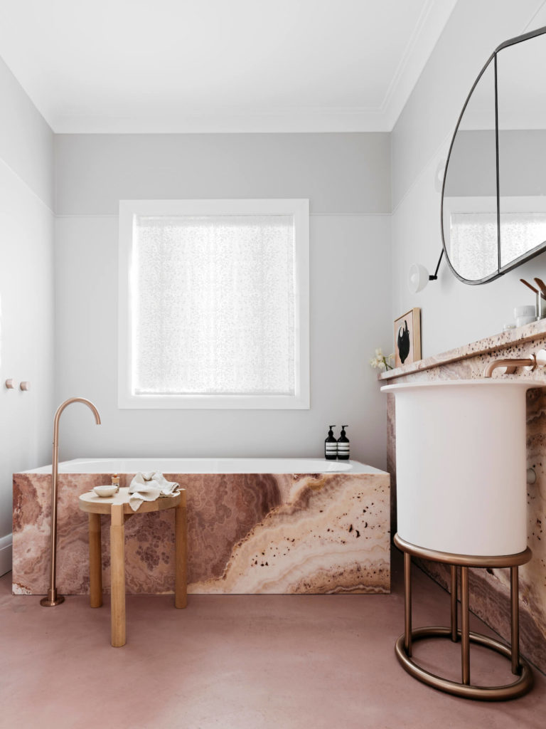 bathroom color schemes, bathrooms, luxury bathroom color schemes The Boldest Bathroom Color Schemes to Explore this Summer est living decus interiors woollahra house 8 2