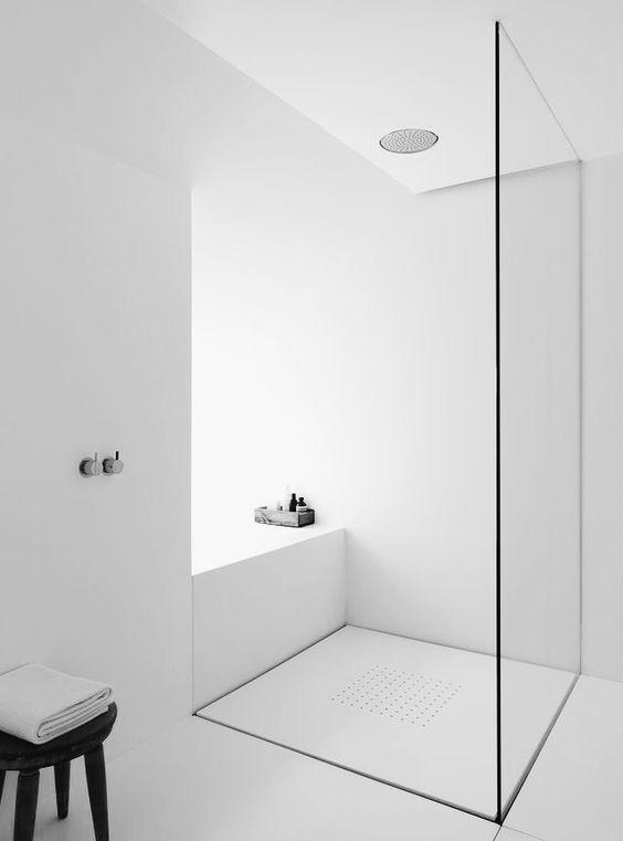 astounding calming modern minimalist bathroom white | minimalist bathroom