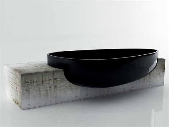 dark indulgence, Luxury Bathroom black bathtubs Dark Indulgence: Black Bathtubs black bathtubs 4