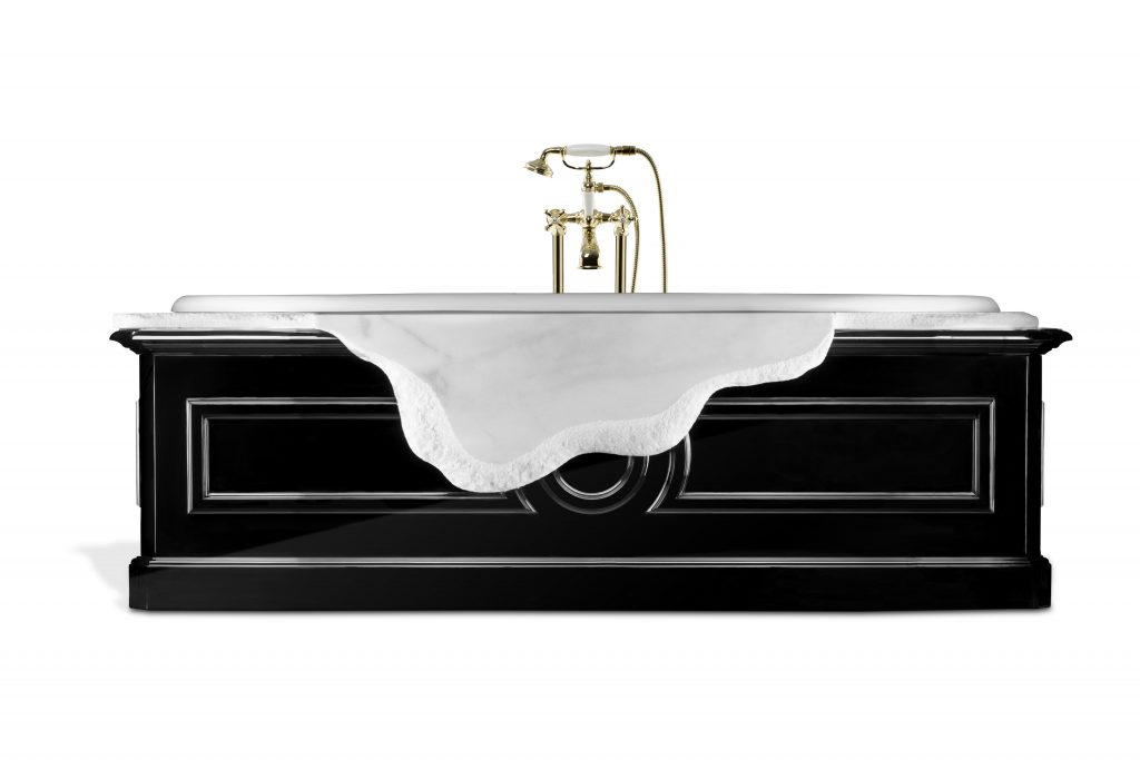 Modern Bathrooms, bathroom, maison valentina, interior designer, bathtub, style, decoration modern bathrooms Modern Bathrooms – All You Need to Know to Get One! petra bathtub 1 HR 1024x683