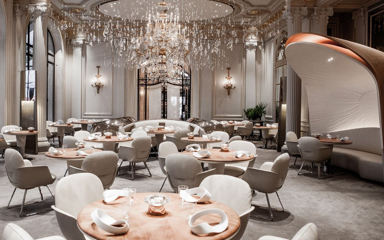 most luxurious restaurants, restaurant, interior design, luxury, food most luxurious restaurants Heaven on a Plate – The Most Luxurious Restaurants in the World plaza athenee luxury restaurants