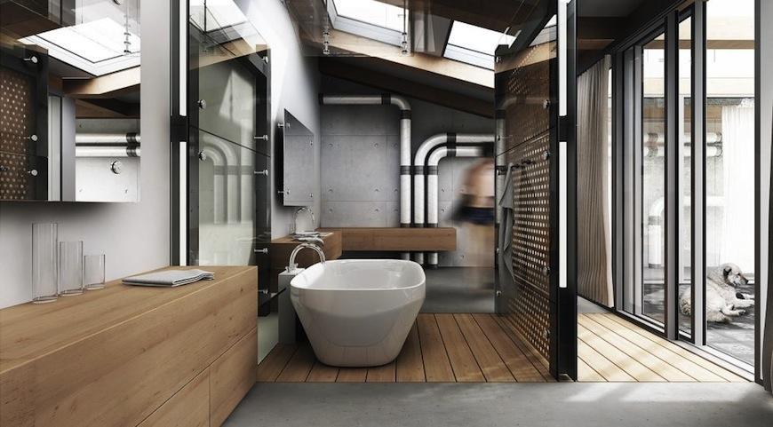 Industrial Style Bathroom Ideas Industrial Style Bathroom Ideas to Glam up Your Home 5 Industrial Bathroom Designs to Glam Up your Home 3