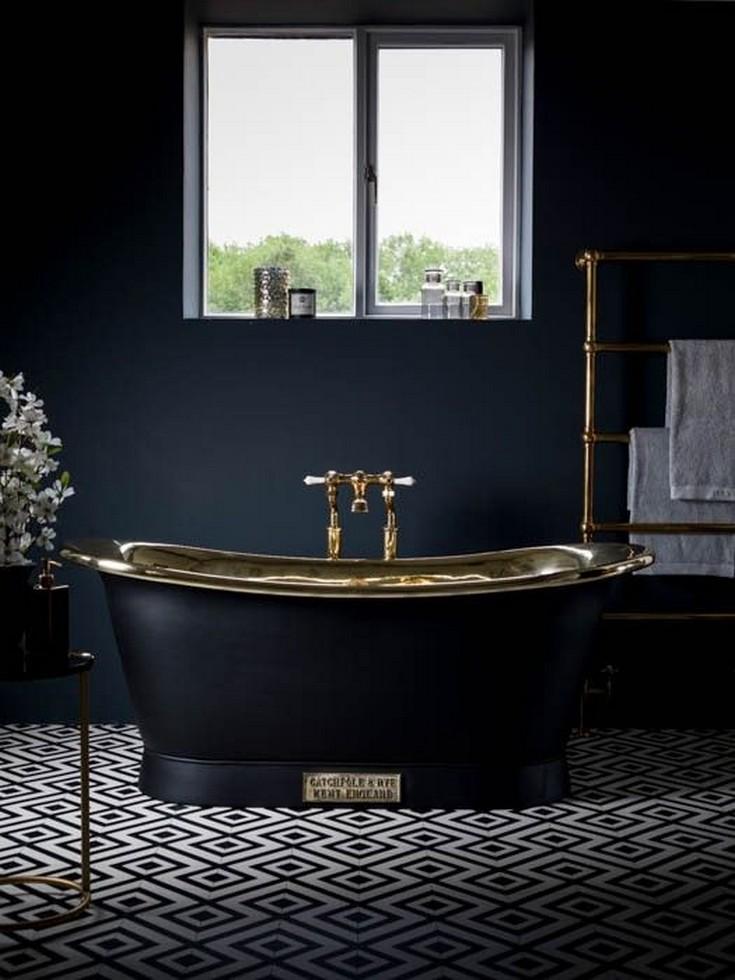 Bathroom Color Schemes, colorful bathroom, black bathroom, pink bathroom, rustic bathroom, bathroom, red bathroom Bathroom Color Schemes 5 Bathroom Color Schemes for Embellish your Decor Bathroom Color Schemes