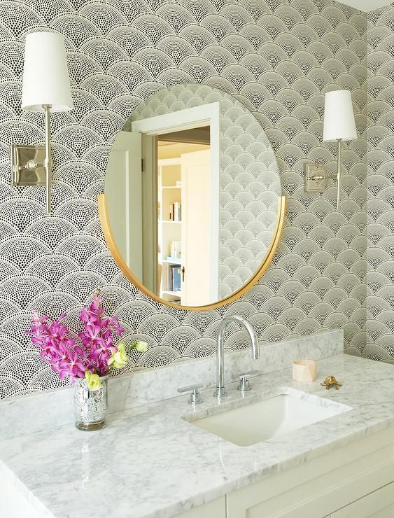 wall mirrors wall mirror ideas Wall Mirror Ideas to Inspire Lavish Bathroom Designs Bathroom mirrors