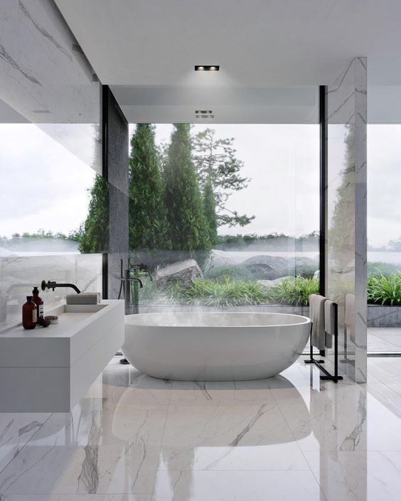 marble bathrooms Create Something Marbleous – Amazing Marble Bathrooms MARBLE BATHROOM 14