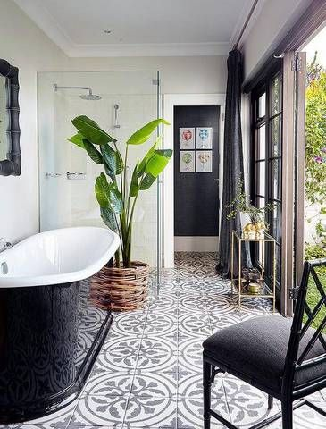 Patterned Tiles 12 Reasons To Fall In Love With Patterned Tiles PATTERNED TILE IDEAS1