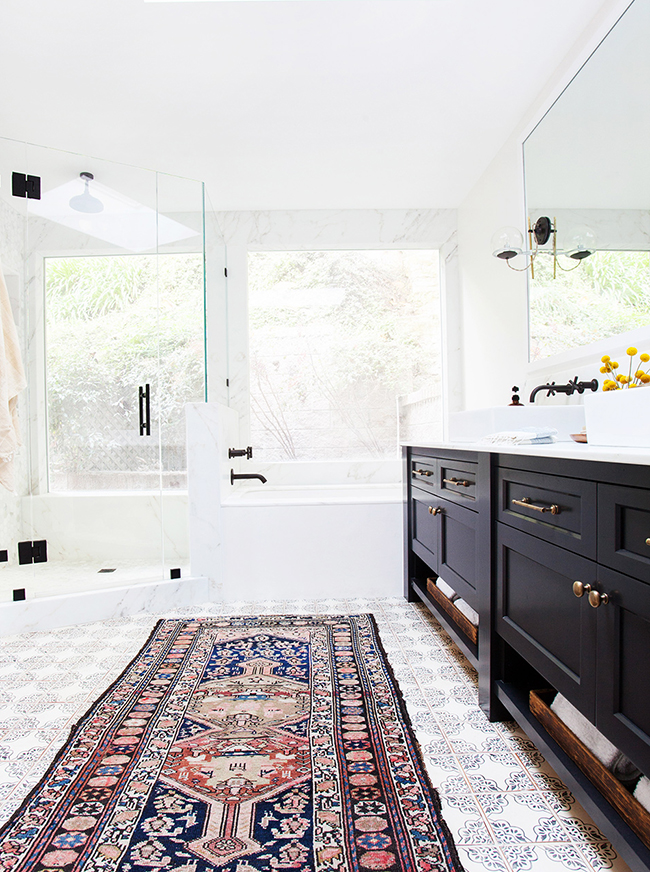 Patterned Tiles 12 Reasons To Fall In Love With Patterned Tiles PATTERNED TILE IDEAS2