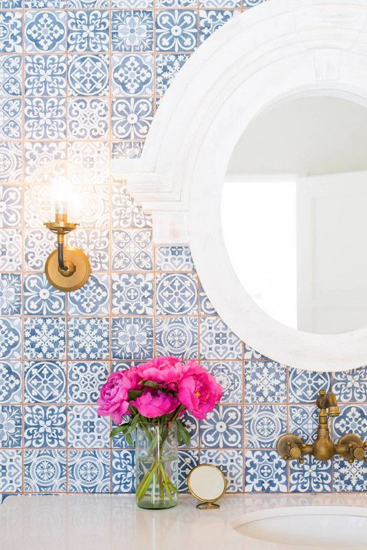 Patterned Tiles 12 Reasons To Fall In Love With Patterned Tiles PATTERNED TILE IDEAS3