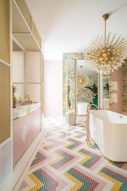 Patterned Tiles 12 Reasons To Fall In Love With Patterned Tiles PATTERNED TILE IDEAS4