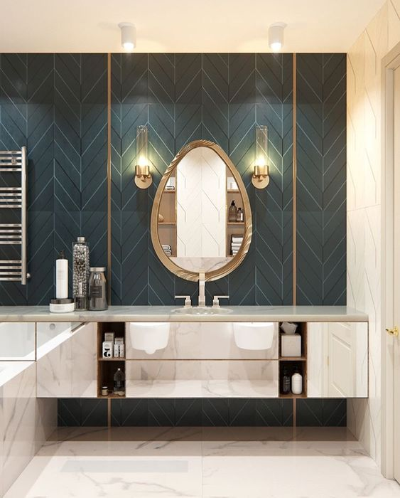 Patterned Tiles 12 Reasons To Fall In Love With Patterned Tiles PATTERNED TILE IDEAS5