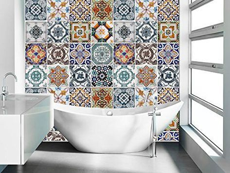 Patterned Tiles 12 Reasons To Fall In Love With Patterned Tiles PATTERNED TILE IDEAS9