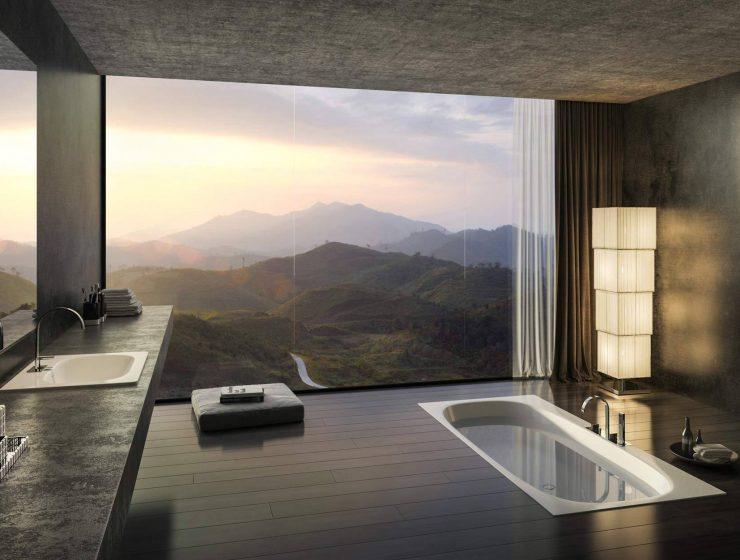 marble bathrooms Create Something Marbleous – Amazing Marble Bathrooms black marble bathroom cool floor tiles with serene ideas grand 740x560