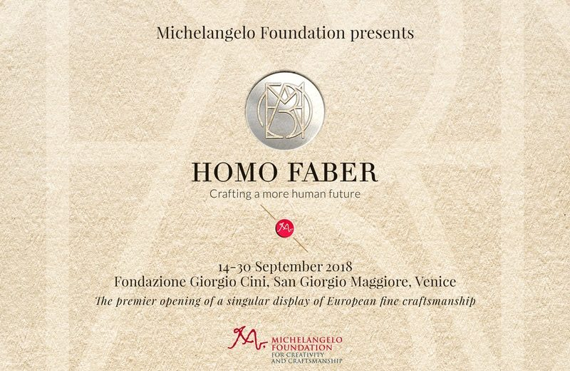 Homo Faber, design, craftsmanship, interior design, event 2018, events homo faber Homo Faber 2018 – A Celebration of Craftsmanship homo faber 2018 1