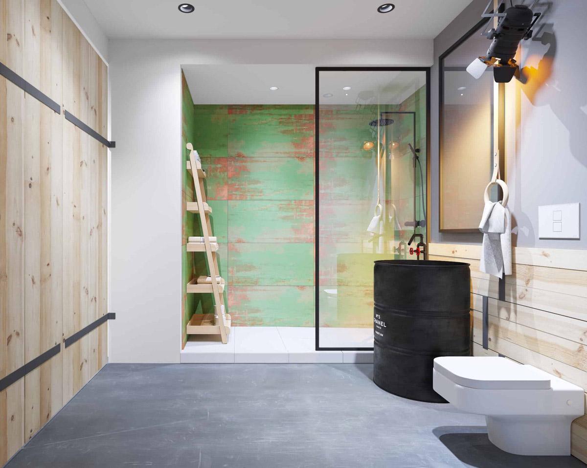 Industrial Style Bathroom Ideas Industrial Style Bathroom Ideas to Glam up Your Home industrial bathroom 1