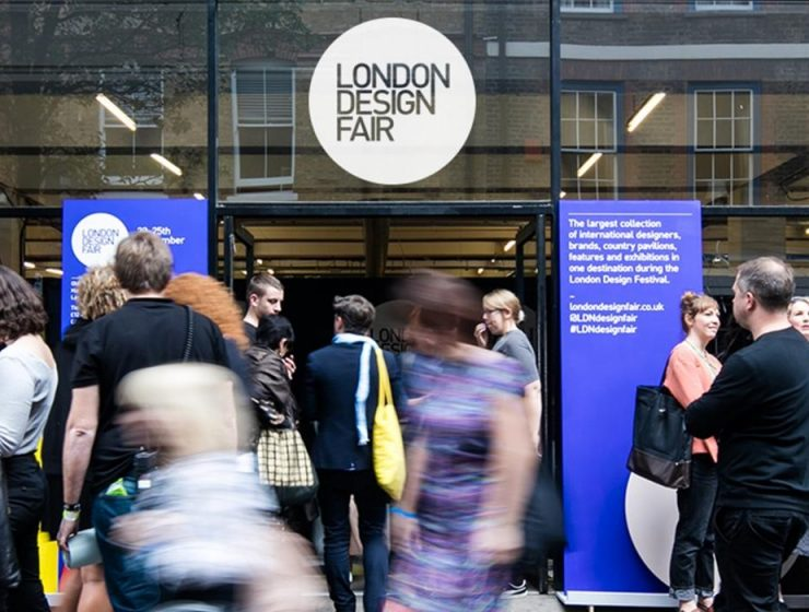 design events Design Monthly: The Best Design Events in September 2018 ldf london design fair lead image 0 740x560