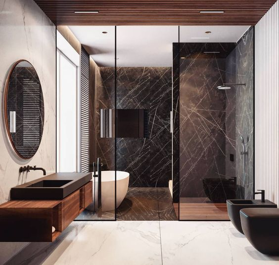 Marble Bathrooms, marble, bathroom, bathroom ideas, inspiration, design marble bathrooms Create Something Marbleous – Amazing Marble Bathrooms marble bathroom 15