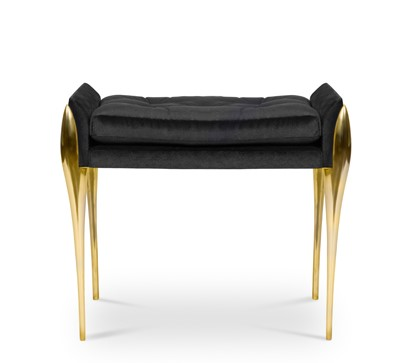 Maison et Objet, Maison Valentina, luxury, stiletto bench, blaze mirror, colosseum mirror maison et objet Maison Valentina Brings Luxury to Maison et Objet – Top Products stiletto bench 1