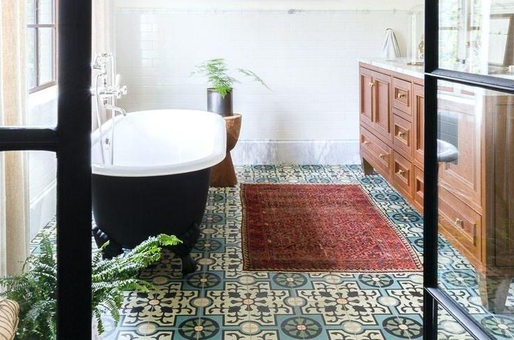 Patterned Tiles 12 Reasons To Fall In Love With Patterned Tiles tile ideas lead 1532442002 740x490