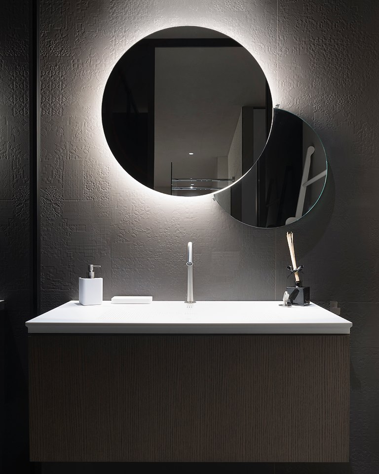 cersaie 2018, bathroom, tiles, bathroom furniture, bologna, agape, bisazza cersaie 2018 Top Exhibitors at CERSAIE 2018 agape bathroom2