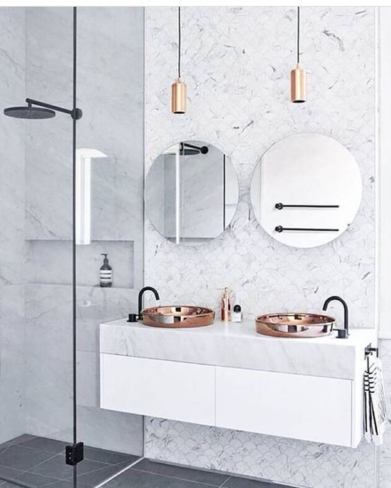 marble details, marble, luxury bathrooms, maison valentina, white marble, interior design Marble details Perfect Marble Details and Ideas for Bathroom Designs marble details